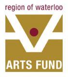 Logo for Region of Waterloo Arts Fund