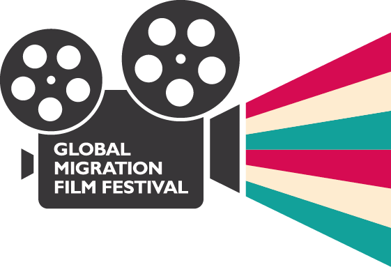 Logo for the Global Migration Film Festival