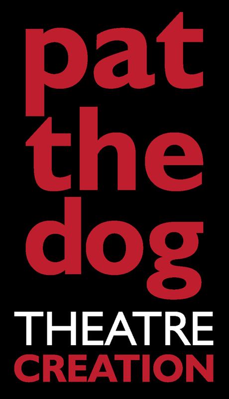 Pat the Dog Theatre Creation logo