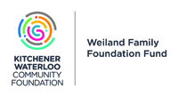 Kitchener Waterloo Community Foundation logo acknowledging the Weiland Family Foundation Fund