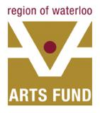 Logo for Region of Waterloo Arts Fund