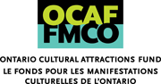 Bilingual logo for Ontario Cultural Attractions Fund