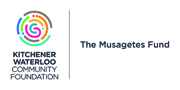 Logo for the Kitchener Waterloo Community Foundation - The Musagetes Fund